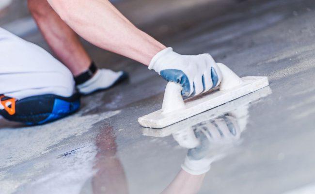 concrete floor Miami